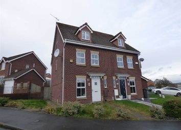 Thumbnail 3 bed semi-detached house for sale in Emerald Way, Baddeley Green, Stoke-On-Trent