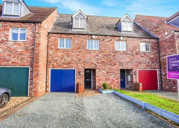 Thumbnail 3 bed terraced house for sale in Hambleton Avenue, North Hykeham