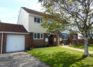 Thumbnail 3 bedroom semi-detached house for sale in Appledore Place, Newton, Swansea