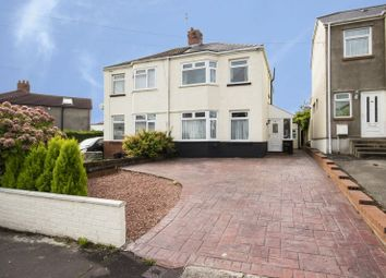 Thumbnail 3 bed semi-detached house for sale in Ty Mawr Road, Rumney, Cardiff