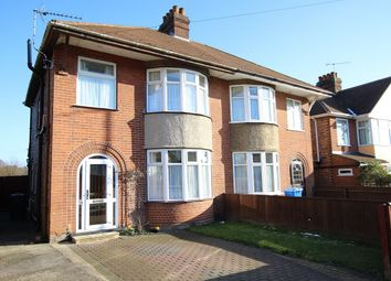 Thumbnail 3 bed semi-detached house for sale in Ashcroft Road, Ipswich, Suffolk