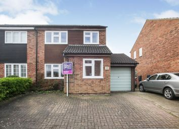 Thumbnail 3 bed semi-detached house for sale in The Mixies, Stotfold