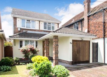 Thumbnail 4 bed detached house for sale in Central Wall Road, Canvey Island