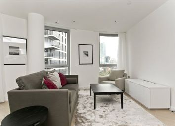 Thumbnail 2 bed flat for sale in Columbia West, New Providence Wharf, London