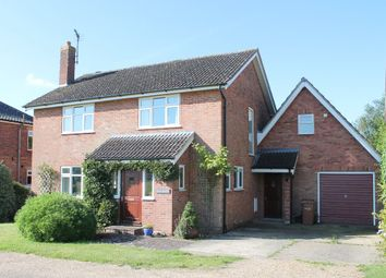 Thumbnail 4 bedroom detached house for sale in Fair Green, Diss