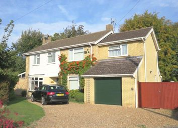 Thumbnail 4 bed detached house for sale in Hollies Close, Royston