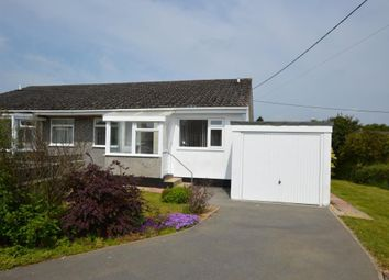 Thumbnail 2 bed semi-detached bungalow for sale in Higher Meadow, Dobwalls, Liskeard, Cornwall