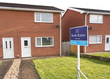 Thumbnail 2 bed terraced house for sale in Mile Barn Road, Wrexham