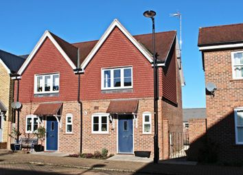 Thumbnail 2 bedroom semi-detached house for sale in Eling Crescent, Sherfield-On-Loddon, Hook