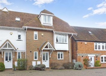 Thumbnail 3 bed town house for sale in The Street, Boughton-Under-Blean, Faversham, Kent