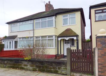 Thumbnail 3 bed semi-detached house for sale in Milton Avenue, Huyton, Liverpool