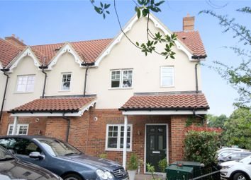 Thumbnail 4 bed end terrace house for sale in Slade Road, Ottershaw, Surrey