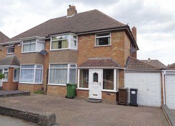 Thumbnail 3 bed semi-detached house for sale in Chestnut Drive, Castle Bromwich, Birmingham