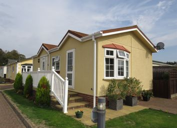 Thumbnail 2 bed mobile/park home for sale in Hardwick Bridge Caravan Park, Hardwick Road, King's Lynn