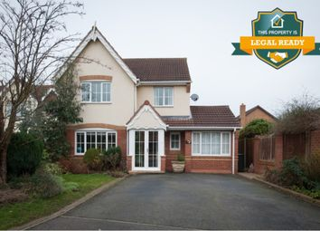 Thumbnail 4 bed detached house for sale in Talland Avenue, Amington, Tamworth