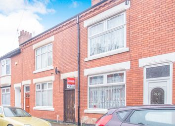 Thumbnail 2 bed terraced house for sale in Trafford Road, Leicester