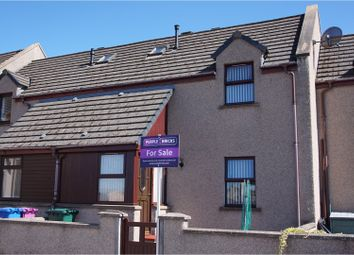 Thumbnail 2 bed terraced house for sale in School Brae Court, Elgin