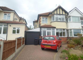 Thumbnail 3 bed semi-detached house for sale in Quinton Road, Harborne, Birmingham