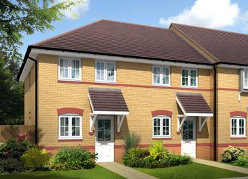 "Thumbnail 2 bed semi-detached house for sale in ""Ashford"" at Lime Pit Lane, Cannock"