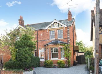 Thumbnail 4 bedroom semi-detached house for sale in Wargrave, Berkshire