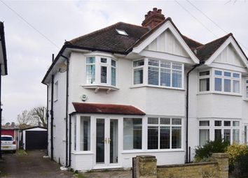 Thumbnail 3 bed semi-detached house for sale in Morden Way, Sutton, Surrey