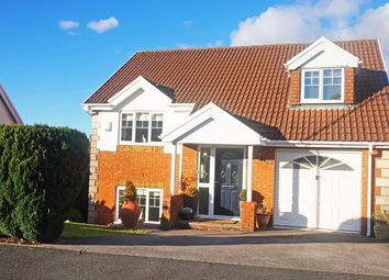 Thumbnail 4 bed detached house for sale in Gellideg Isaf Rise, Maesycwmmer