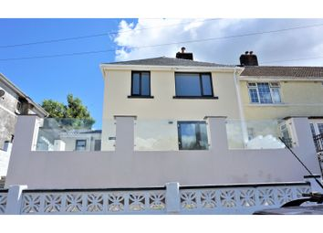 Thumbnail 3 bed end terrace house for sale in Heol Pandy, Bridgend
