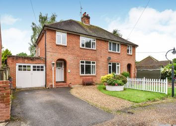 Thumbnail 3 bed semi-detached house for sale in Sheerlands Road, Arborfield, Reading