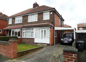 Thumbnail 3 bedroom semi-detached house to rent in Collingwood Avenue, Holgate, York