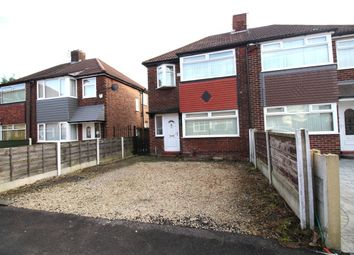 Thumbnail 3 bedroom semi-detached house to rent in Wilham Avenue, Eccles, Manchester