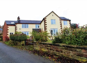 Thumbnail 4 bed detached house for sale in Chapel Lane, Threapwood, Cheadle, Stoke-On-Trent