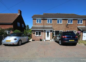 Thumbnail 4 bed semi-detached house for sale in Barfrestone Road, Dover, Kent