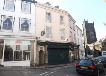 Thumbnail 3 bed flat for sale in Launceston, Cornwall