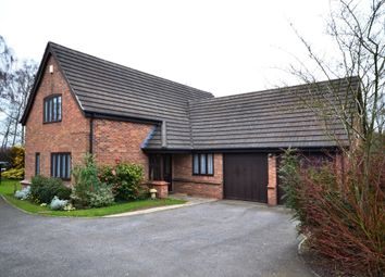 Thumbnail 4 bed detached house for sale in Betton Road, Market Drayton