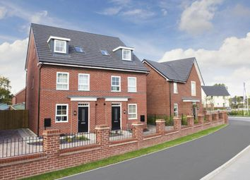 "Thumbnail 4 bed terraced house for sale in ""Helmsley"" at Orchid Green, Northwich"