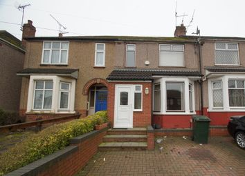 Thumbnail 4 bed terraced house to rent in Nuffield Road, Coventry