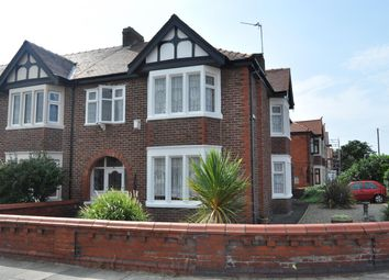 Thumbnail 4 bed semi-detached house for sale in Roseacre, South Shore, Blackpool