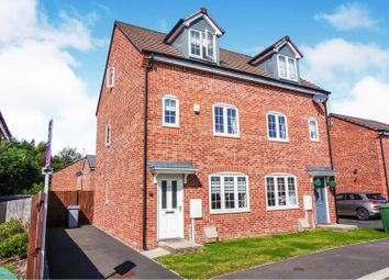 Thumbnail 3 bed semi-detached house for sale in Beacon View, Ollerton