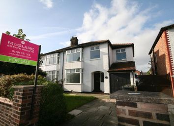 Thumbnail 4 bed semi-detached house for sale in Mallee Crescent, Churchtown, Southport