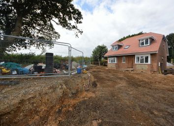 Thumbnail 4 bed detached house for sale in New Road, Lovedean, Waterlooville