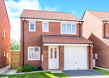 Thumbnail 3 bed detached house for sale in Cupola Close, North Hykeham, Lincoln