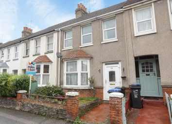 Thumbnail 3 bed terraced house for sale in Hastings Avenue, Margate