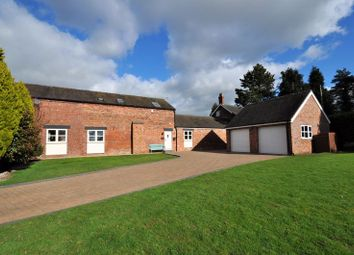 Arclid Shire Barns, Reynolds Lane, Arclid Green CW11. 4 bed barn conversion for sale