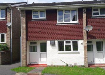 Thumbnail 3 bed terraced house to rent in Lamerton Close, Bordon
