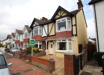 Thumbnail 3 bed semi-detached house for sale in Northfield Road, Worthing, West Sussex