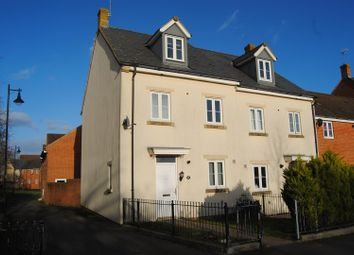 Thumbnail 4 bed end terrace house for sale in Pioneer Road, Swindon