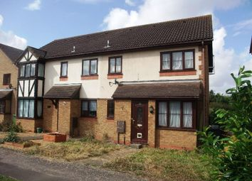 Thumbnail 1 bed terraced house to rent in Lindisfarne Close, Eynesbury, St. Neots