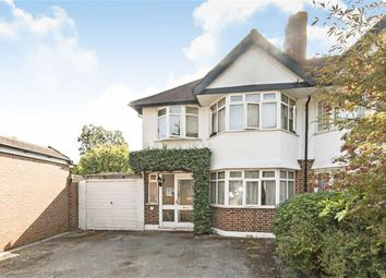Thumbnail 3 bed semi-detached house for sale in Ewell Road, Long Ditton, Surbiton
