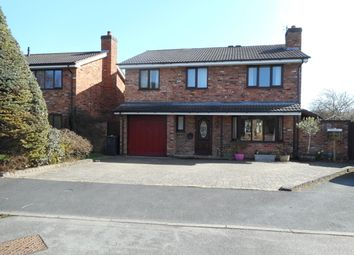 Thumbnail 4 bed detached house to rent in Wedgefields Close, Hadnall