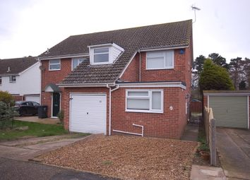 Thumbnail 3 bed semi-detached house to rent in Eppingham Close, Thetford